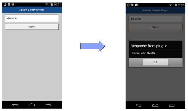 Android - Implementing Apache Cordova plugin - IBM Mobile ...