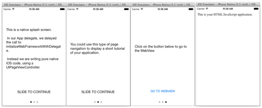 iOS - Adding native UI elements to hybrid applications - IBM Mobile