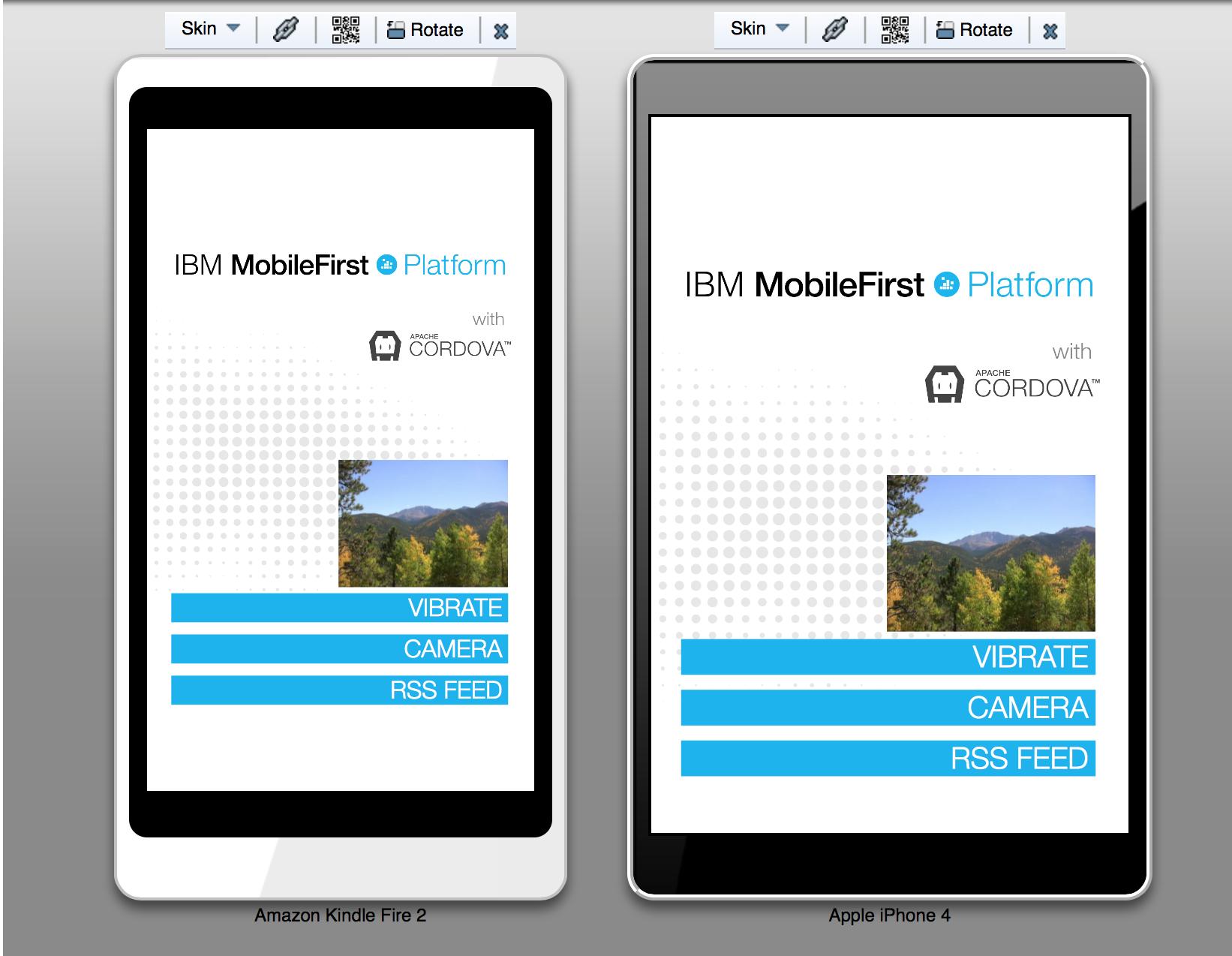 Enhance MobileFirst Cordova app using Visual Studio 2015