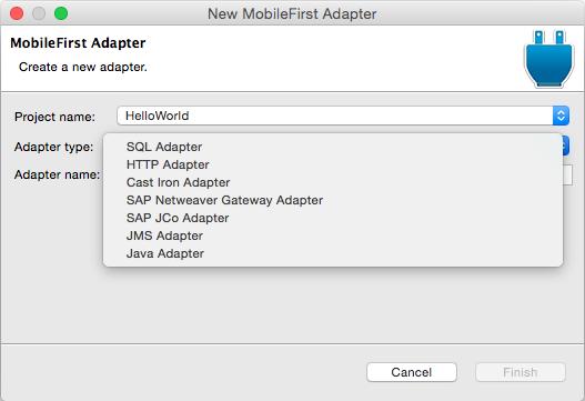 JavaScript HTTP Adapters - IBM Mobile Foundation Developer Center