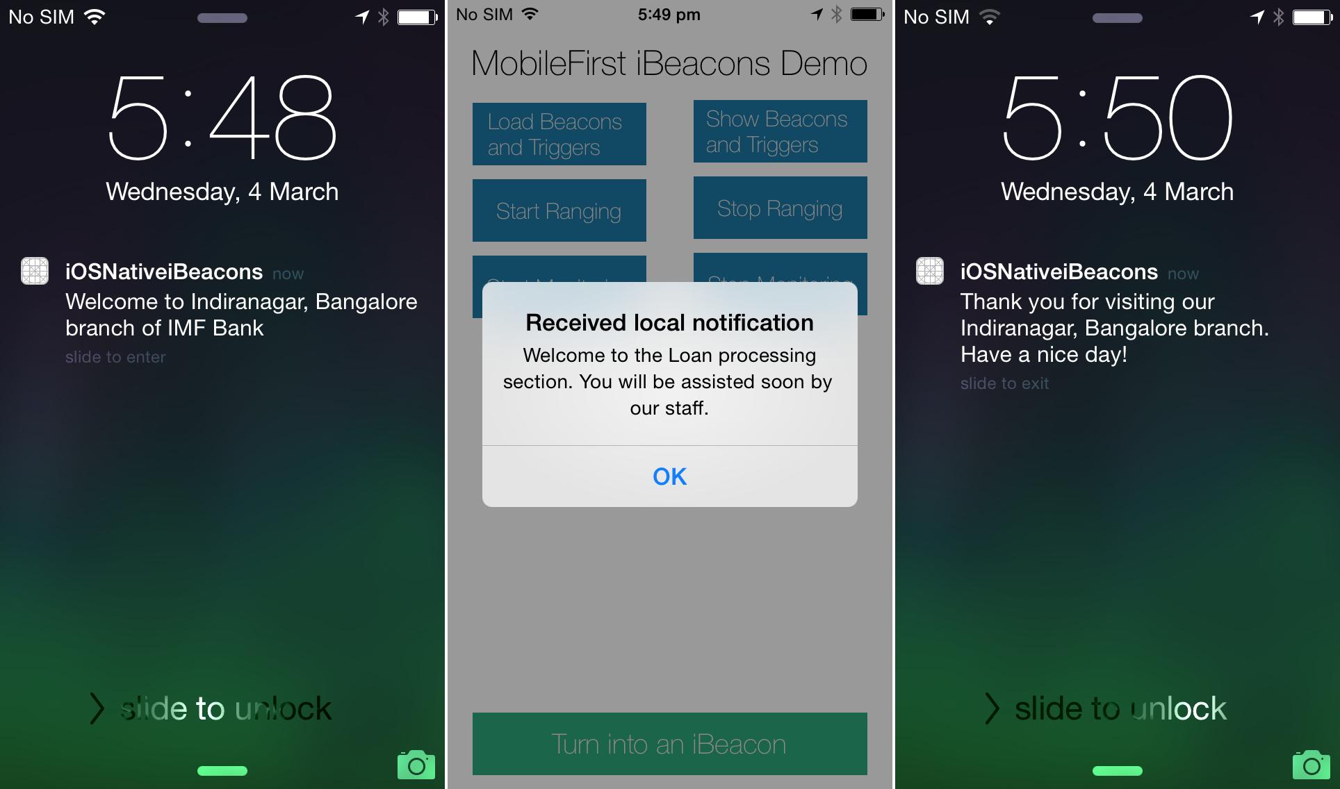 Beacons in iOS - IBM Mobile Foundation Developer Center