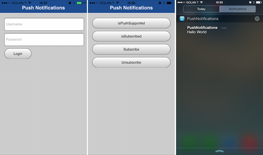 Event Source Notifications in MFP 7 1 Cordova Applications