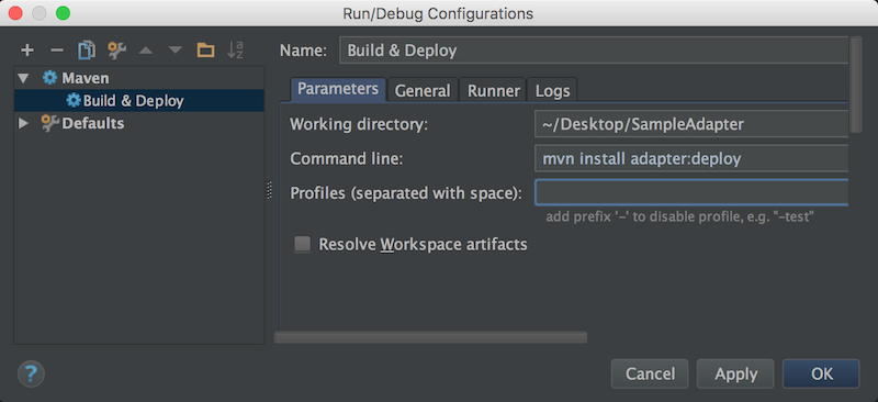 Using IntelliJ to Develop MobileFirst Java Adapters - IBM Mobile