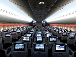 In-flight Entertainment system in planes