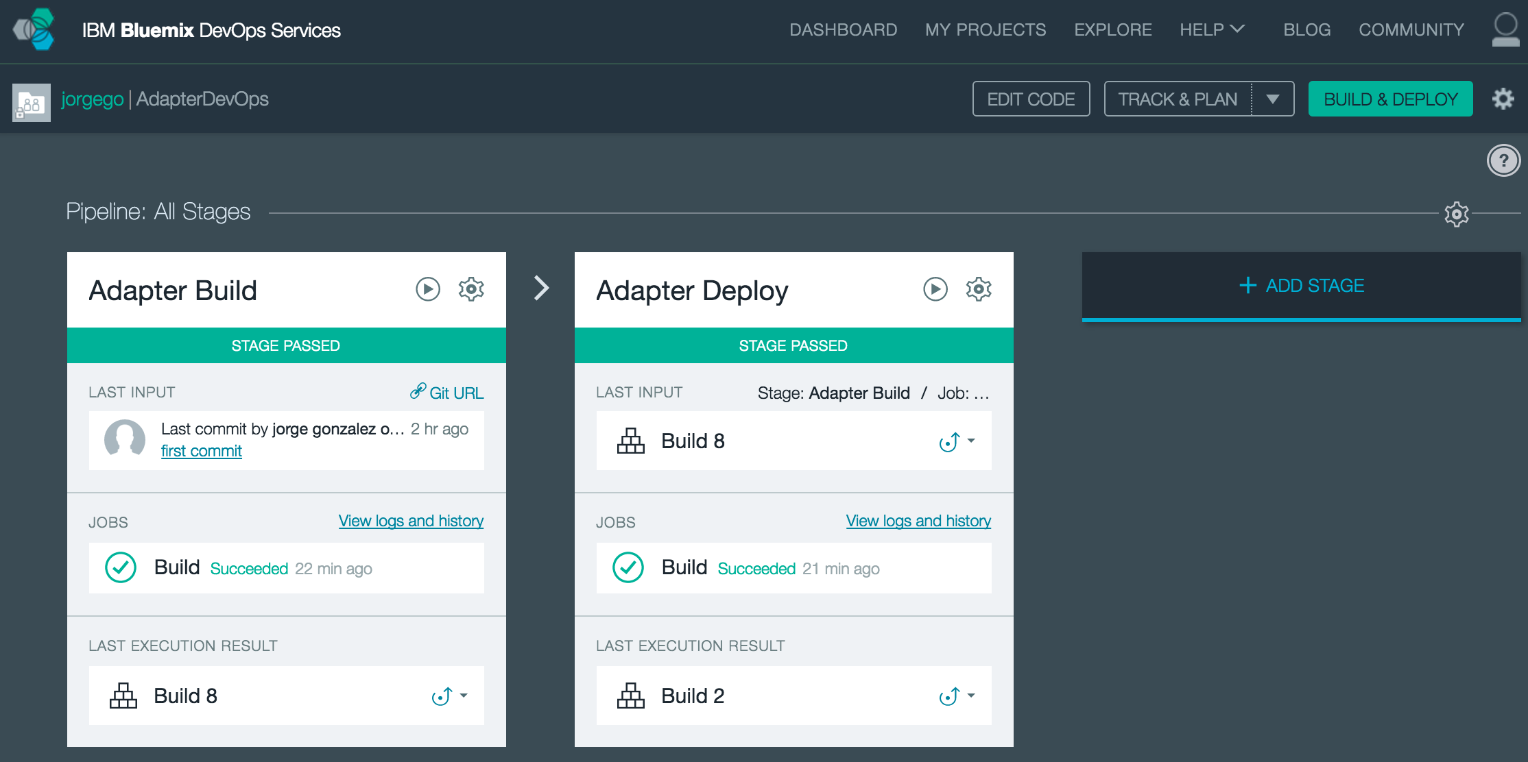 Bluemix Delivery Pipeline service