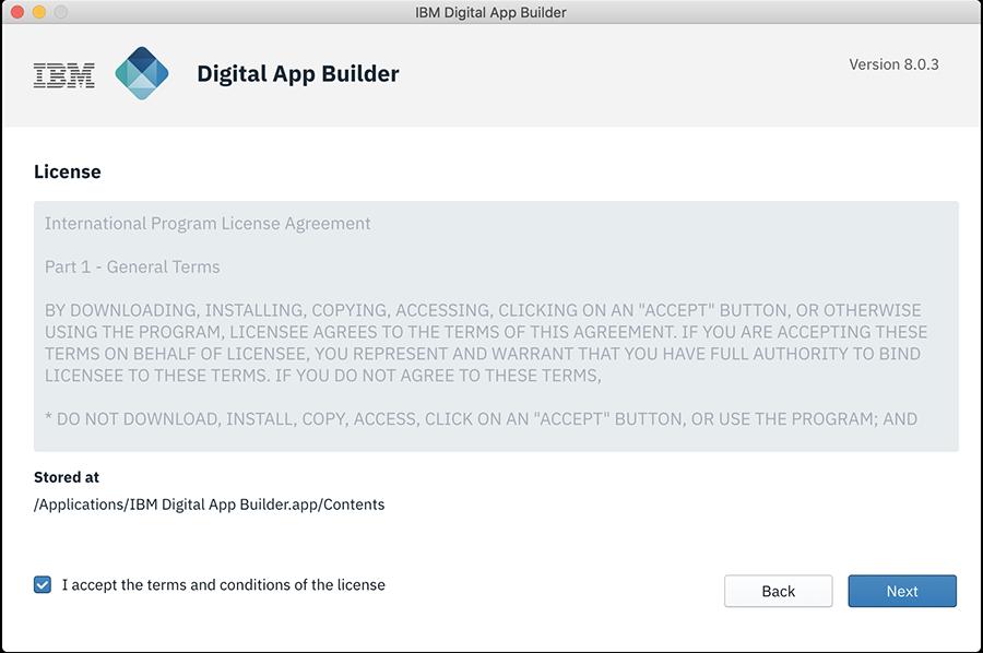 Installation and Configuration - IBM Mobile Foundation Developer Center