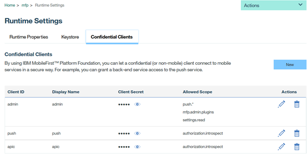 Protecting API resources using MobileFirst OAuth server