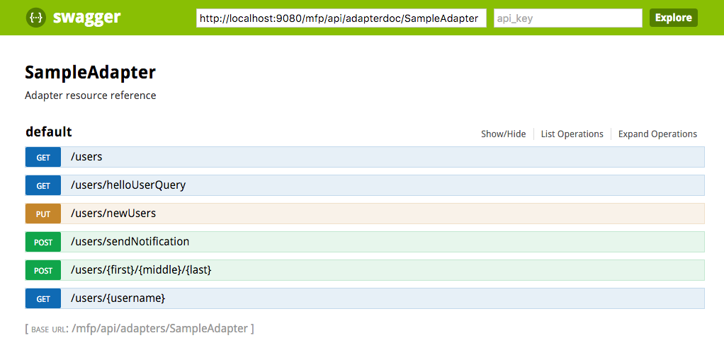 Testing and Debugging Adapters - IBM Mobile Foundation