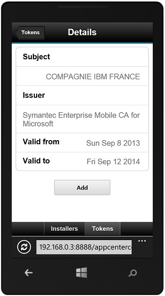 The mobile client - IBM Mobile Foundation Developer Center